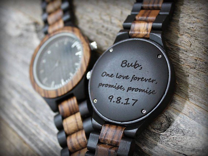 personalized mens watches
